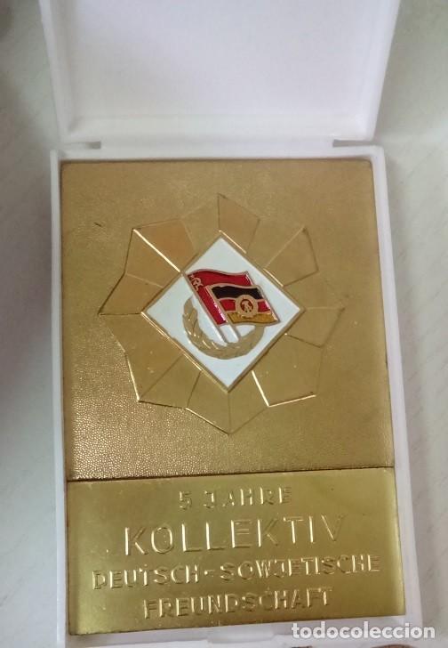 Medallas condecorativas: GRAN LOTE DE DIFERENTES PREMIOS Y CONDECORACIONES DEPORTIVAS Y OTRAS DE ALEMANIA . . . - Foto 6 - 66914646