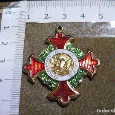 Medallas condecorativas: MEDALLA ESMALTADA PREMIO AL MERITO ESCOLAR. Lote 70311337