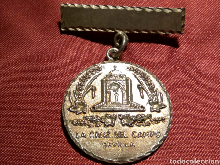 MEDALLA CRUZ DEL CAMPO PLATA (Numismática - Medallería - Condecoraciones)