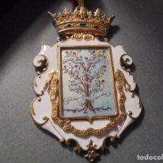 Medallas condecorativas: ANTIGUA MEDALLA DE PLATA DORADA Y ESMALTES CON SU ESTUCHE DEL CONSEJO SUPERIOR DE INVESTIGACIONES . Lote 71937971