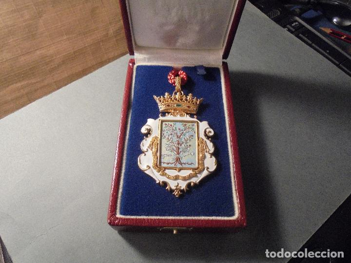 Medallas condecorativas: ANTIGUA MEDALLA DE PLATA DORADA Y ESMALTES CON SU ESTUCHE DEL CONSEJO SUPERIOR DE INVESTIGACIONES - Foto 2 - 71937971
