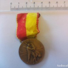 Médailles décorations: MEDALLA, INSIGNIA,LUCHA LIBRE SUISSE MEDAILLE HUGUENIN LE LOCLE SWISS MEDAL. Lote 77029345