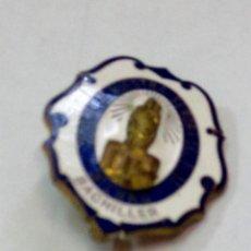 Medallas condecorativas: MEDALLA ESCOLAR BACHILLER COLEGIO NUESTRA SEÑORA DEL PILAR BILBAO. Lote 83297544