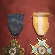 Medallas condecorativas: LOTE DOS MEDALLAS SAGRADOS CORAZONES. Lote 86852540