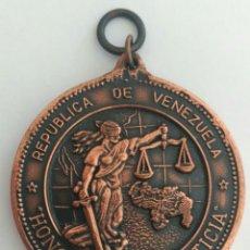 Medallas condecorativas: ORDEN HONOR A LA JUSTICIA. REPÚBLICA DE VENEZUELA. MEDALLA. Lote 88766603