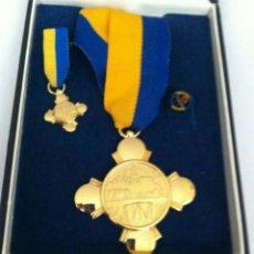 Medallas condecorativas: CONDECORACIÓN DE PLATA. ORDEN MÉRITO EN EL TRABAJO 1A. CLASE. VENEZUELA. Lote 89523842