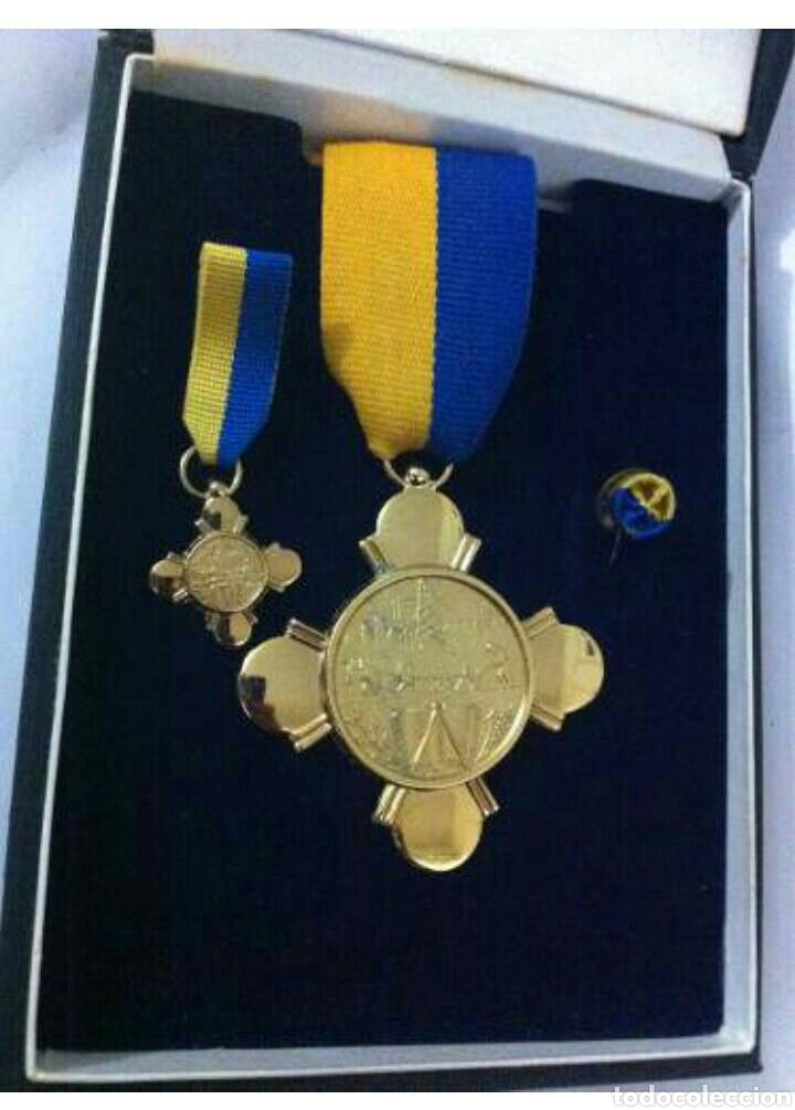 CONDECORACIÓN DE PLATA. ORDEN MÉRITO EN EL TRABAJO. 1A. CLASE. VENEZUELA (Numismática - Medallería - Condecoraciones)