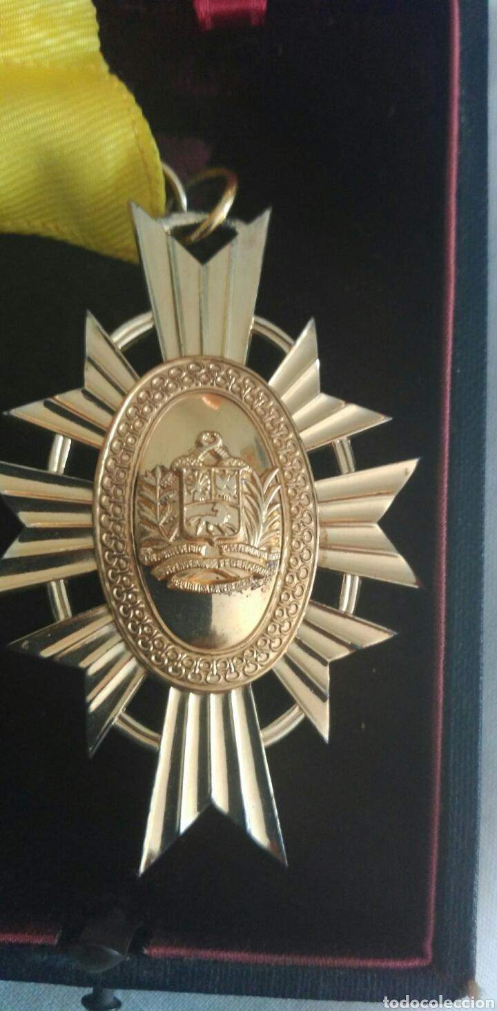 Medallas condecorativas: DE PLATA ORDEN GENERALÍSIMO DON FRANCISCO D MIRANDA. VENEZUELA. MARISCAL D CAMPO REVOLUCIÓN FRANCESA - Foto 4 - 91117057