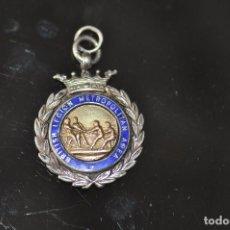 Medallas condecorativas: MEDALLA BRITISH LEGION METROPOLITAN AREA , STERLING , PLATA 1932 . Lote 92934020