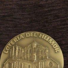 Medallas condecorativas: COLEGIATA DE TORO ( ZAMORA ). BRONCE PULIDO 1992. Lote 95502335