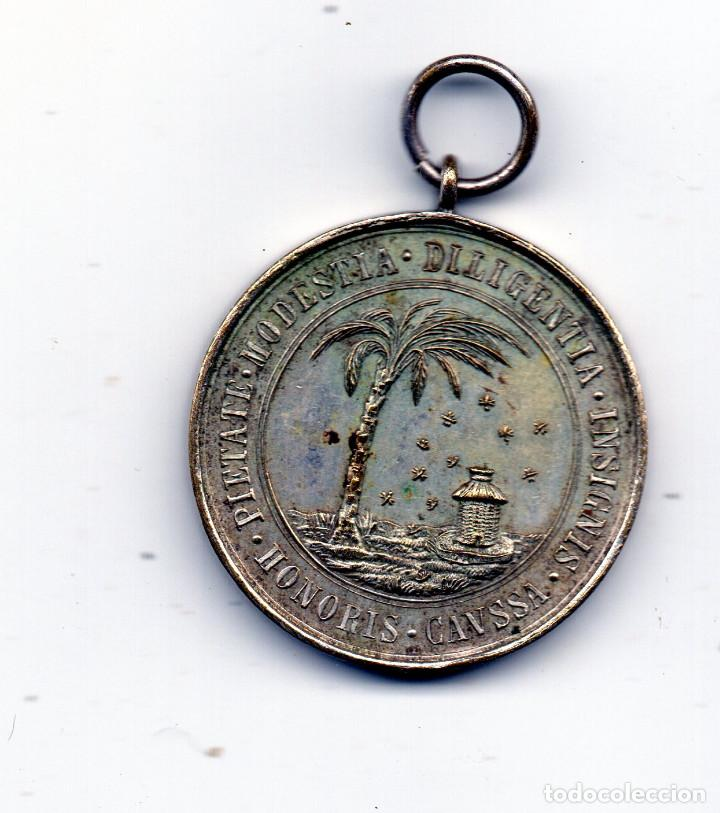 Medallas condecorativas: Collegium Ignatii Manresanum medalla escolar - Foto 2 - 95782099