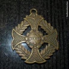 Decorations Medals - ANTIGUA MEDALLA ESPAÑOLA AL MERITO. BRONCE - 96458067