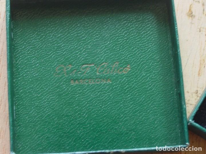 CAJA MEDALLA RADIO BARCELONA (Numismática - Medallería - Condecoraciones)