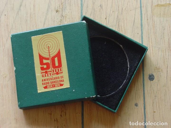 Medallas condecorativas: Caja medalla radio Barcelona - Foto 2 - 97121719