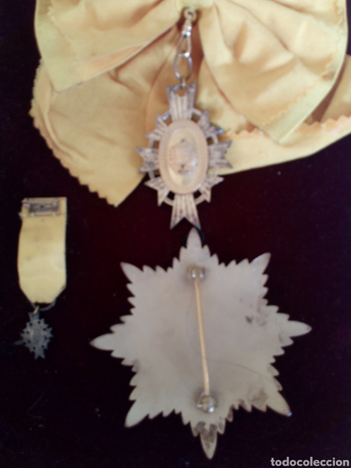 Medallas condecorativas: CONDECORACIÓN D PLATA ORDEN FRANCISCO D MIRANDA 1 a CLASE GENERALÍSIMO D VENEZUELA. MARISCAL FRANCIA - Foto 4 - 97623227
