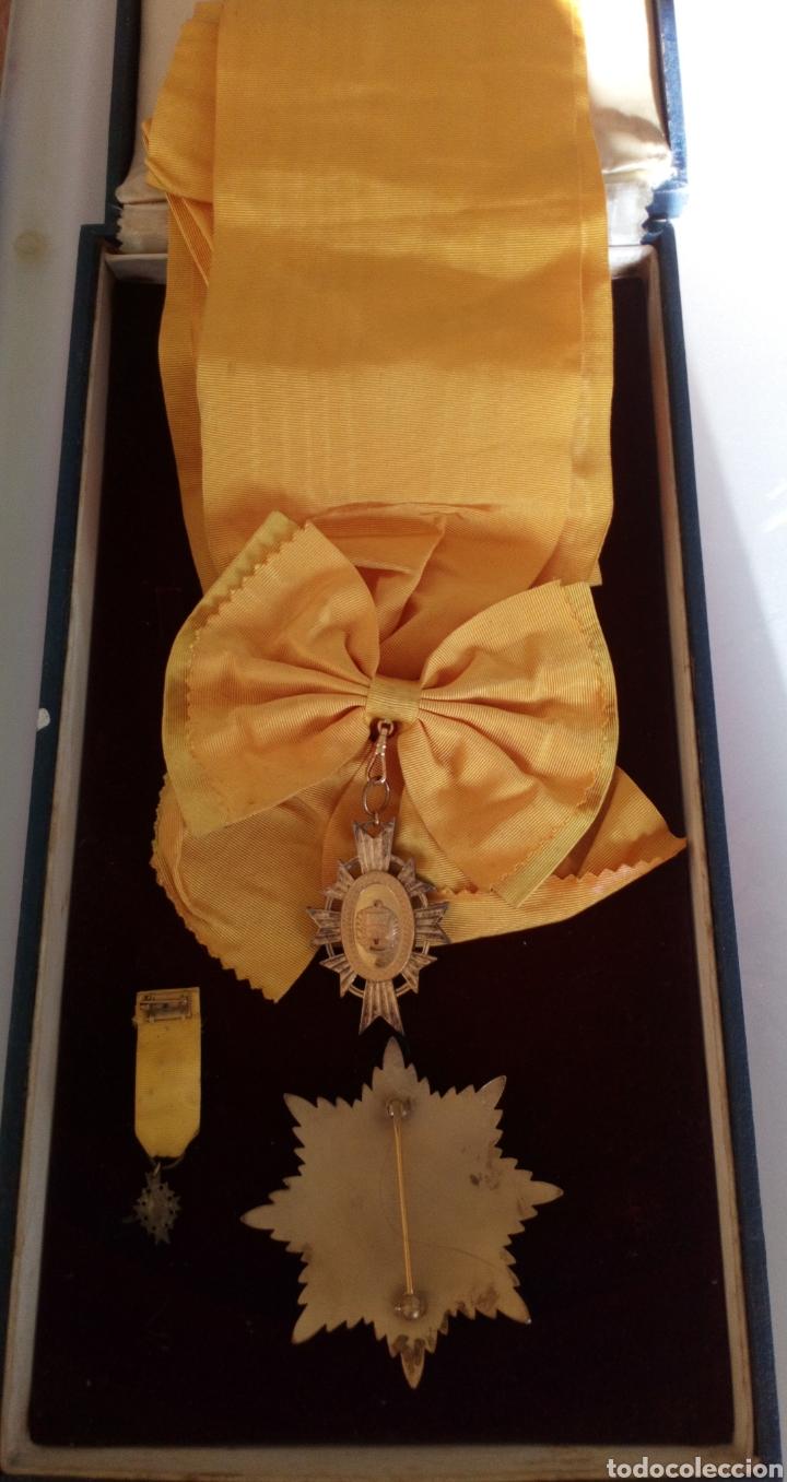 Medallas condecorativas: CONDECORACIÓN D PLATA ORDEN FRANCISCO D MIRANDA 1 a CLASE GENERALÍSIMO D VENEZUELA. MARISCAL FRANCIA - Foto 5 - 97623227