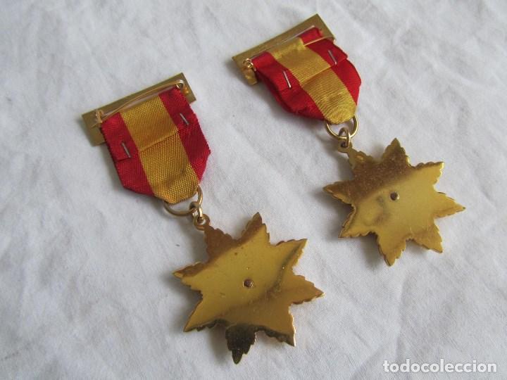 Medallas condecorativas: 2 medallas o condecoraciones metálicas escolares Aplicación - Foto 5 - 97869511