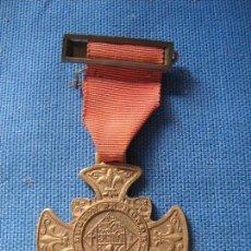 Medallas condecorativas: MEDALLA CON PASADOR - LEGIÓN DE HONOR LABOREMUS - TRABAJO . Lote 102426119
