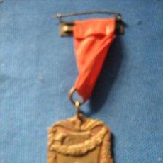 Medallas condecorativas: MEDALLA CON PASADOR - PREMIO AL MERITO - 1982 - INSCRIPCION SCF . Lote 102426487
