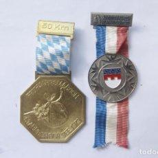 Medallas condecorativas: LOTE DE 2 MEDALLAS ALEMANAS AÑÓS 70. Lote 103112019