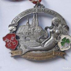 Medallas condecorativas: GRANDE Y BONITA MEDALLA ALEMANA 1970. Lote 103112211