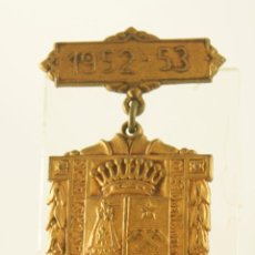Medallas condecorativas: CONDECORACION DE COLEGIO 1952 NUESTRA SEÑORA DE BONANOVA BARCELONA. Lote 103716719