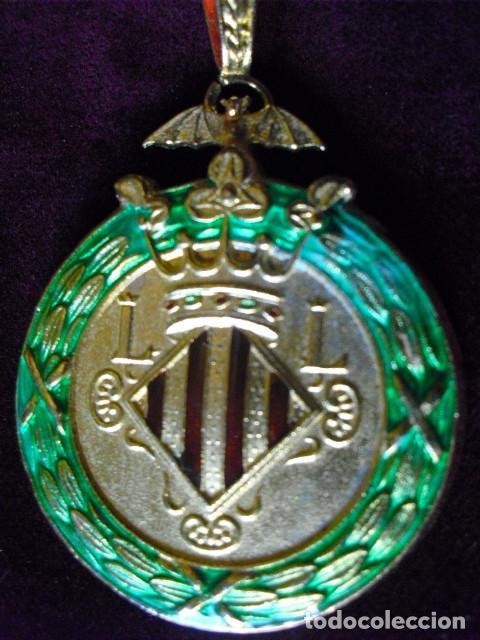 MEDALLA OFICIAL EXCMO. AYUNTAMIENTO VALENCIA,45 MM.MUY CONSERVADA,CORDON. CONCEJAL? (Numismática - Medallería - Condecoraciones)