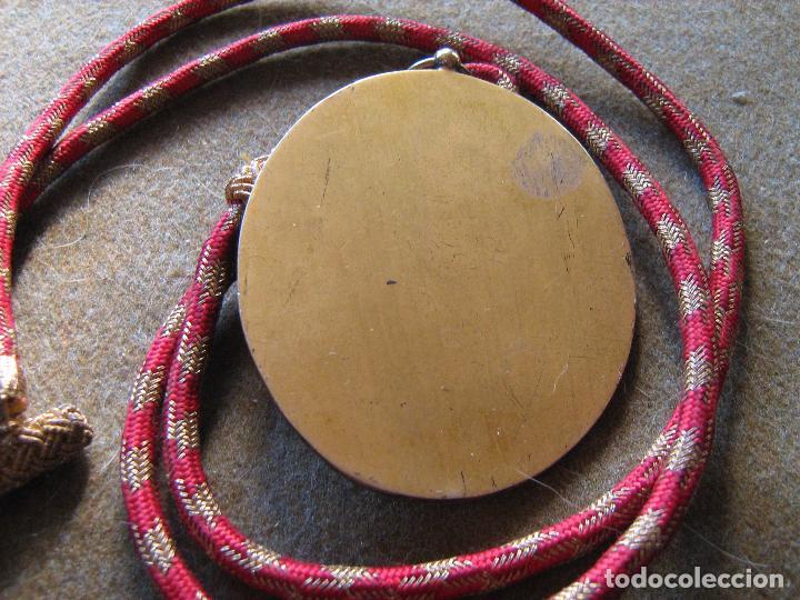 Medallas condecorativas: MEDALLA REAL ACADEMIA DE SAN ROMUALDO - PUERTO REAL - CADIZ - Foto 2 - 105647003