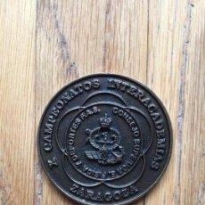 Medallas condecorativas: MEDALLA CONMEMORATIVA X CAMPEONATOS INTERACADEMIAS 1995. Lote 108429131