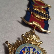 Medallas condecorativas: MEDALLA MASÓNICA PLATA. Lote 109171239