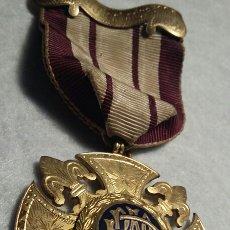 Medallas condecorativas: MEDALLA MASÓNICA PLATA. Lote 109172074
