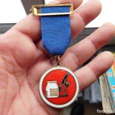 Medallas condecorativas: MEDALLA DANONE PREMIO A SU LEALTAD EN EL TRABAJO 25 AÑOS DE SERVICIO. Lote 112909679