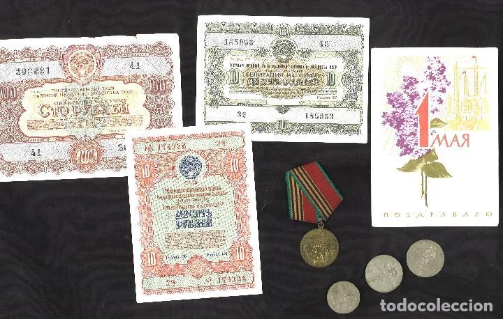 LOTE DE LA UNION SOVIÉTICA. URSS (Numismática - Medallería - Condecoraciones)
