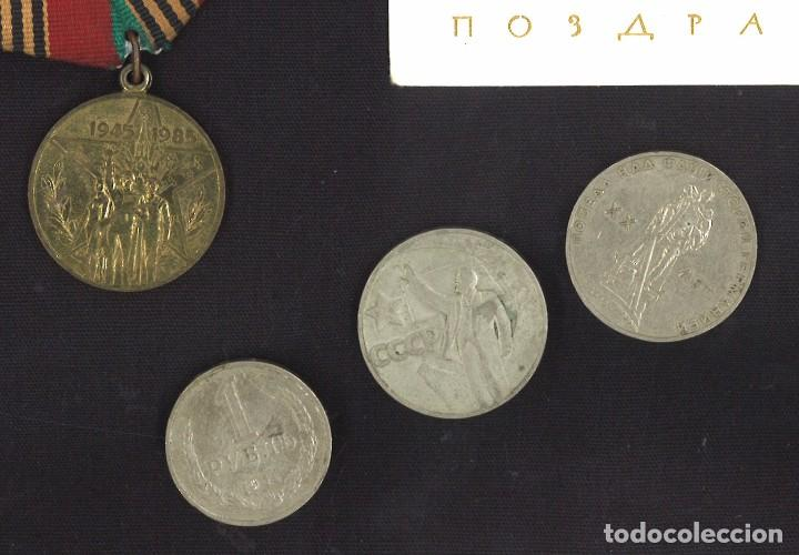 Medallas condecorativas: Lote de la Union soviética. URSS - Foto 2 - 118810348