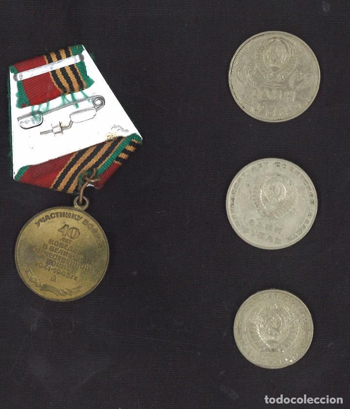 Medallas condecorativas: Lote de la Union soviética. URSS - Foto 4 - 118810348
