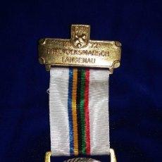 Medallas condecorativas: MEDALLA ALEMANA CONMEMORATIVA LANGENAU 1972. Lote 114703171