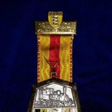 Medallas condecorativas: MEDALLA ALEMANA CONMEMORATIVA VOHRINGEN/ILLER 1972. Lote 114703667
