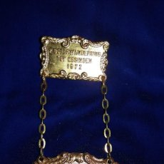 Medallas condecorativas: MEDALLA ALEMANA CONMEMORATIVA ESSINGEN 1972. Lote 114704963
