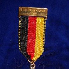 Medallas condecorativas: MEDALLA ALEMANA CONMEMORATIVA WERTINGEN 1971. Lote 114706187