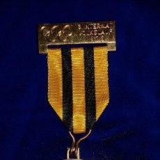 Medallas condecorativas: MEDALLA ALEMANA CONMEMORATIVA BIHEL 1972. Lote 114706707