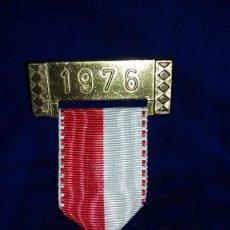 Medallas condecorativas: MEDALLA ALEMANA CONMEMORATIVA 1976. Lote 114709051