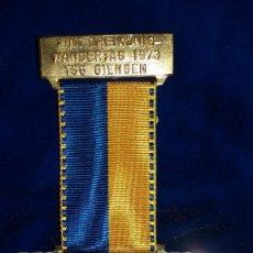 Medallas condecorativas: MEDALLA ALEMANA CONMEMORATIVA GIENGEN 1973. Lote 114709571