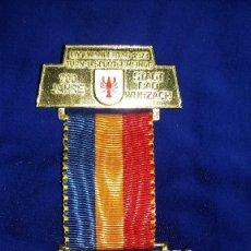 Medallas condecorativas: MEDALLA ALEMANA CONMEMORATIVA 700 AÑOS ESTADO DE BAD WURZACH 1973. Lote 114709811