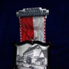Medallas condecorativas: MEDALLA ALEMANA CONMEMORATIVA MUNDERKINGEN 1972. Lote 114710231