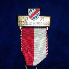 Medallas condecorativas: MEDALLA ALEMANA CONMEMORATIVA PEINTINGER WARDENTANG 1971. Lote 114710579