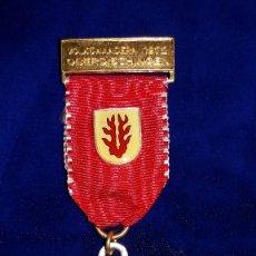 Medallas condecorativas: MEDALLA ALEMANA CONMEMORATIVA OBERDISCHINGEN 1972. Lote 114713671