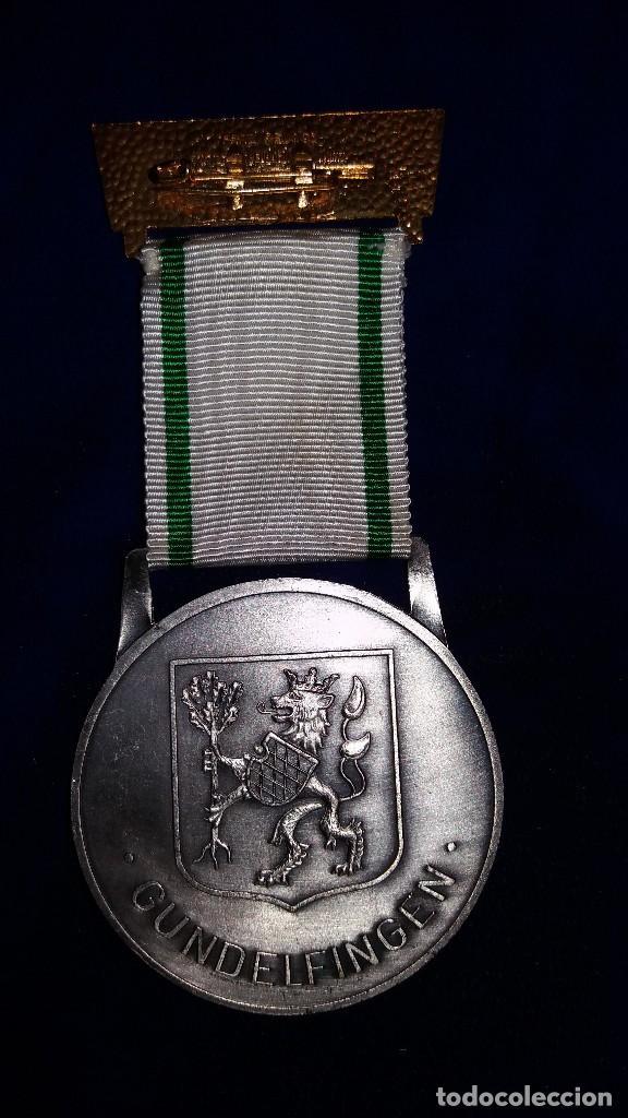 Medallas condecorativas: MEDALLA ALEMANA CONMEMORATIVA EUROPA UNIDA 1971 - Foto 2 - 114714715