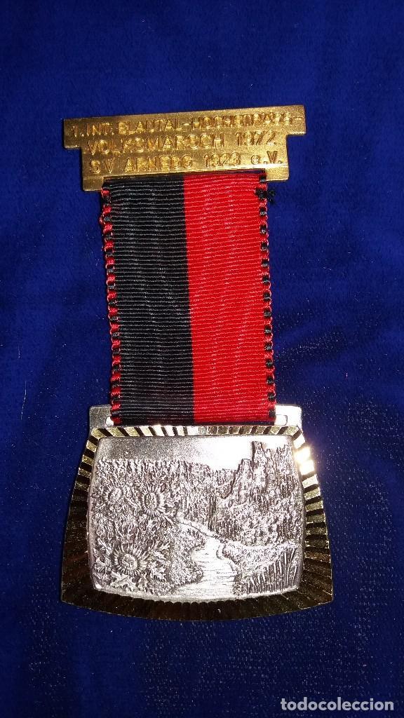 MEDALLA ALEMANA CONMEMORATIVA ARNEGG 1972 (Numismática - Medallería - Condecoraciones)