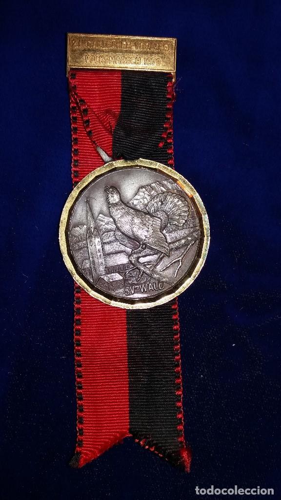 MEDALLA ALEMANA CONMEMORATIVA 1970 (Numismática - Medallería - Condecoraciones)