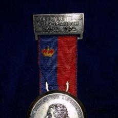 Medallas condecorativas: MEDALLA ALEMANA CONMEMORATIVA ALOIS I DE LICHESTEIN 1974. Lote 114716739